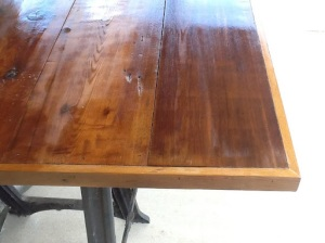 Making a Farmhouse Table on the Cheap
