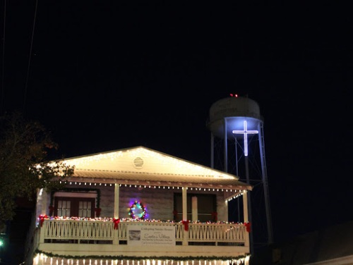 Coldspring Square Christmas Lighting