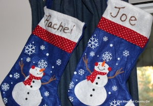Dollar Store Christmas Stockings