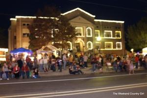 San Jacinto County Courthouse at Christmas