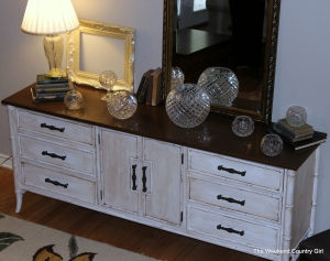 credenza from the stairway