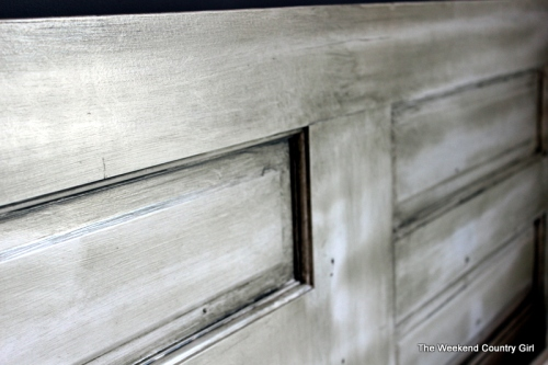 Glazed Door Headboard