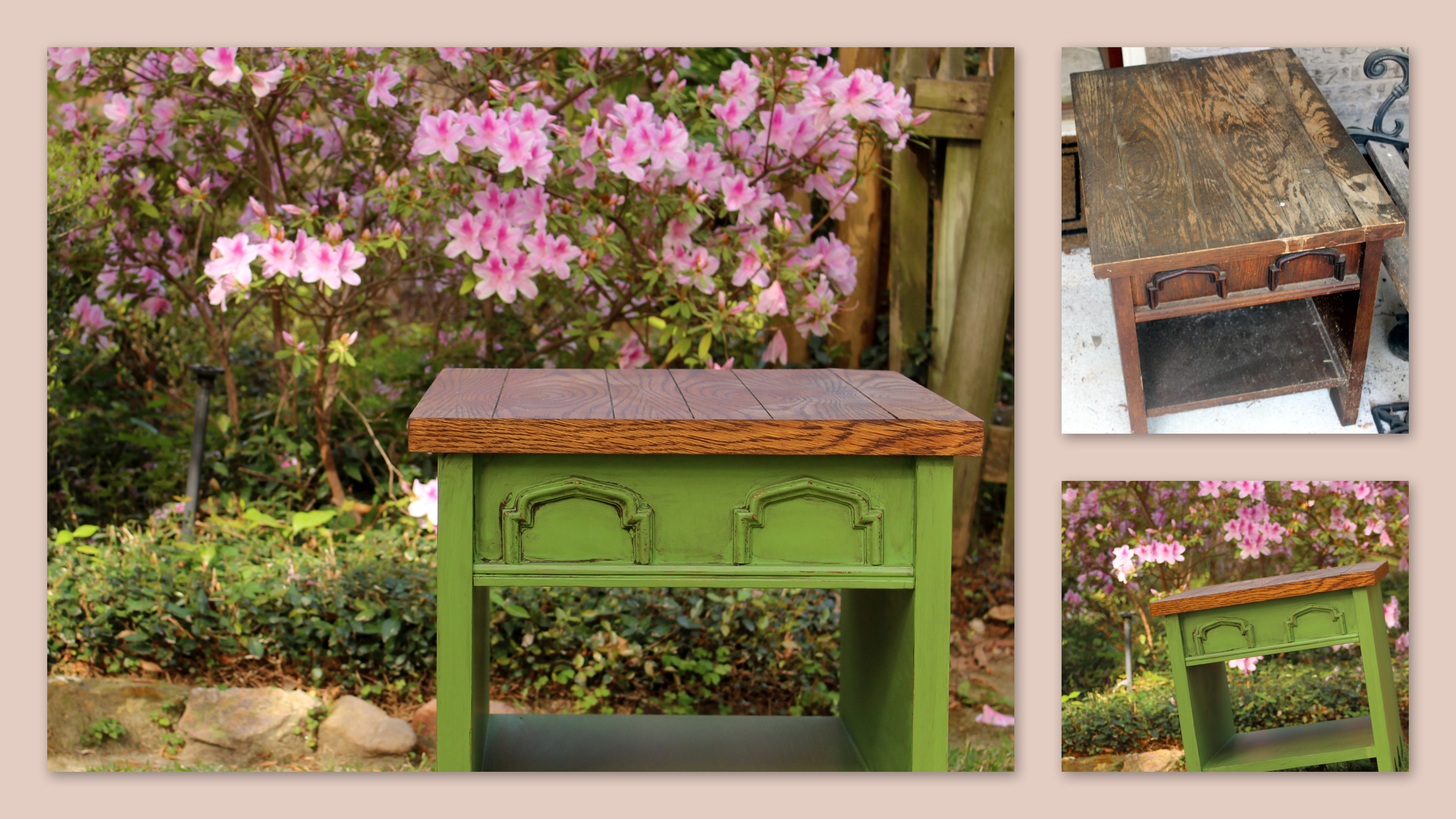 Junk Fairy End Table