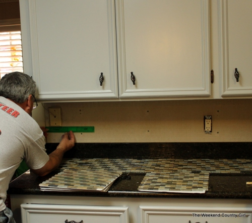 measuring for tile