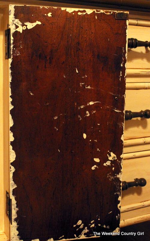 drippy credenza door