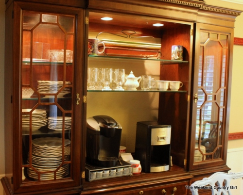 China cabinet reused