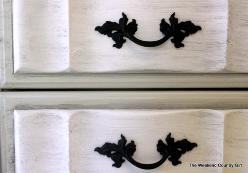 painted French provincial hardware
