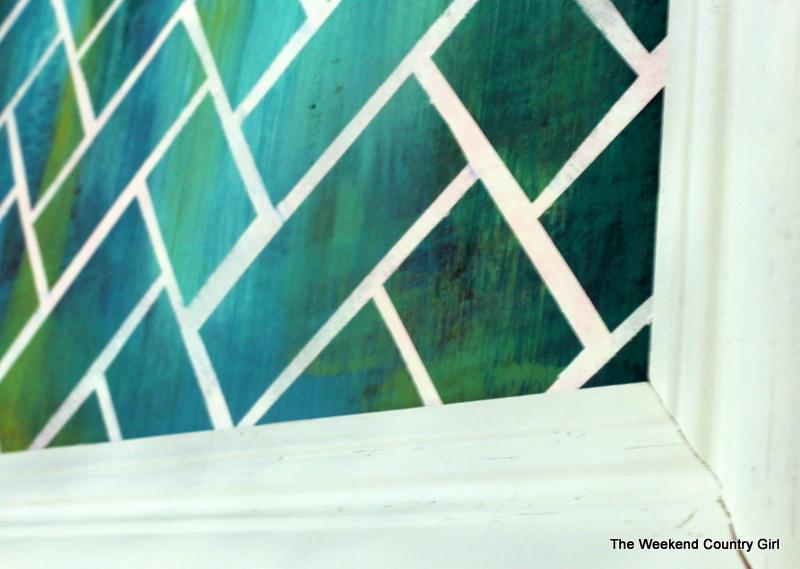herringbone art