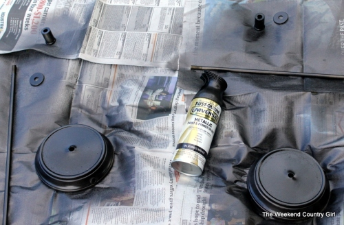 oil rubbed bronze spray paint
