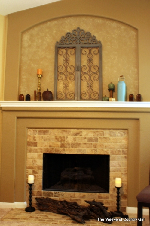 burb home fireplace