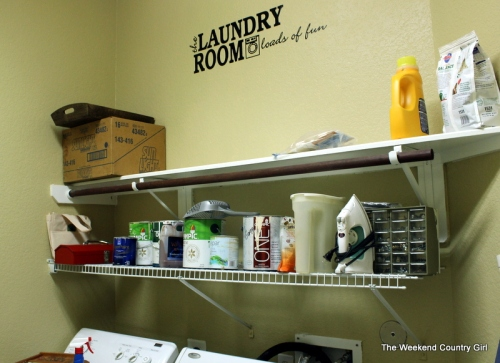 laundry room bdfore