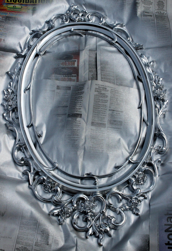 Ornate Frame Makeover The Weekend Country Girl