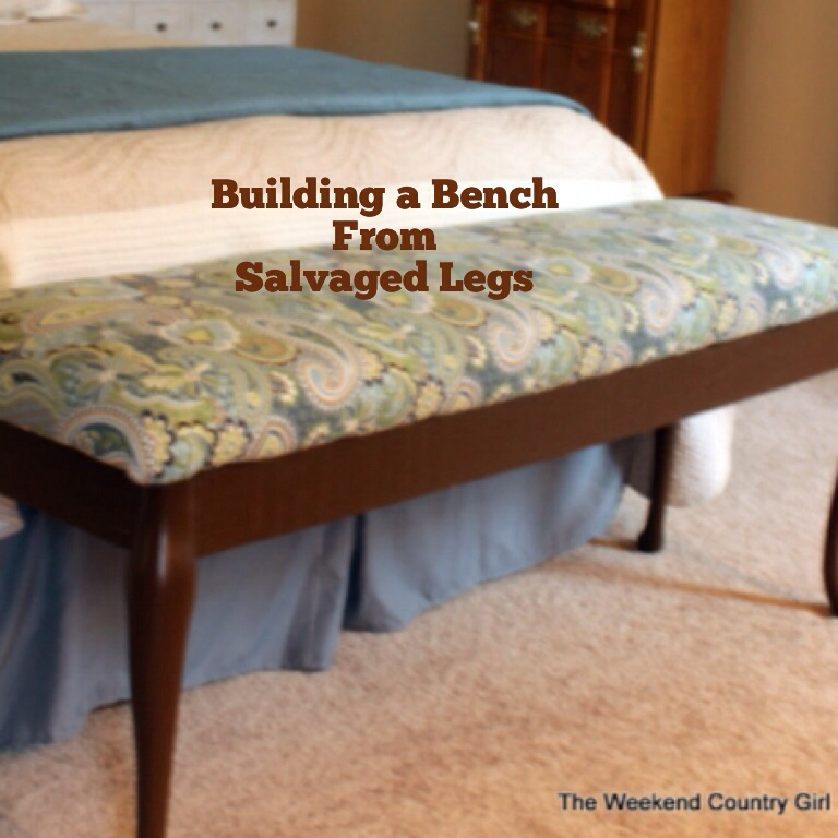 A Bench For The Foot Of The Bed The Weekend Country Girl