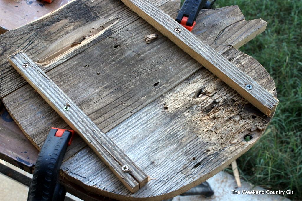 reclaimed wood pumpkin diy