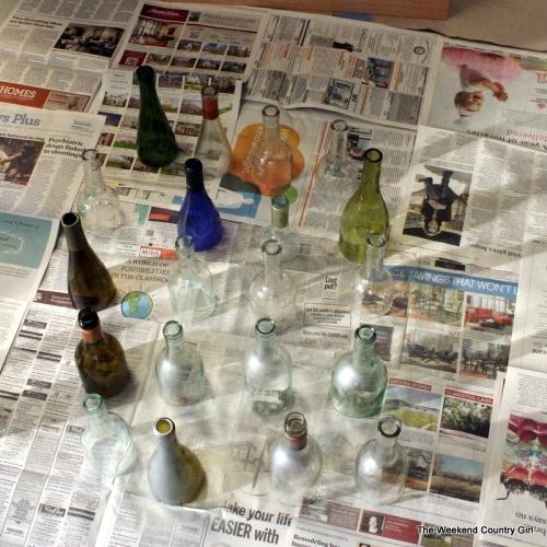 cut bottles