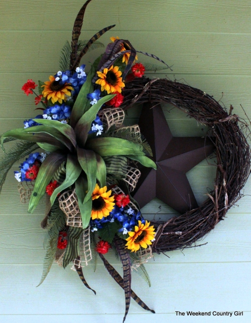 Texas Wreath