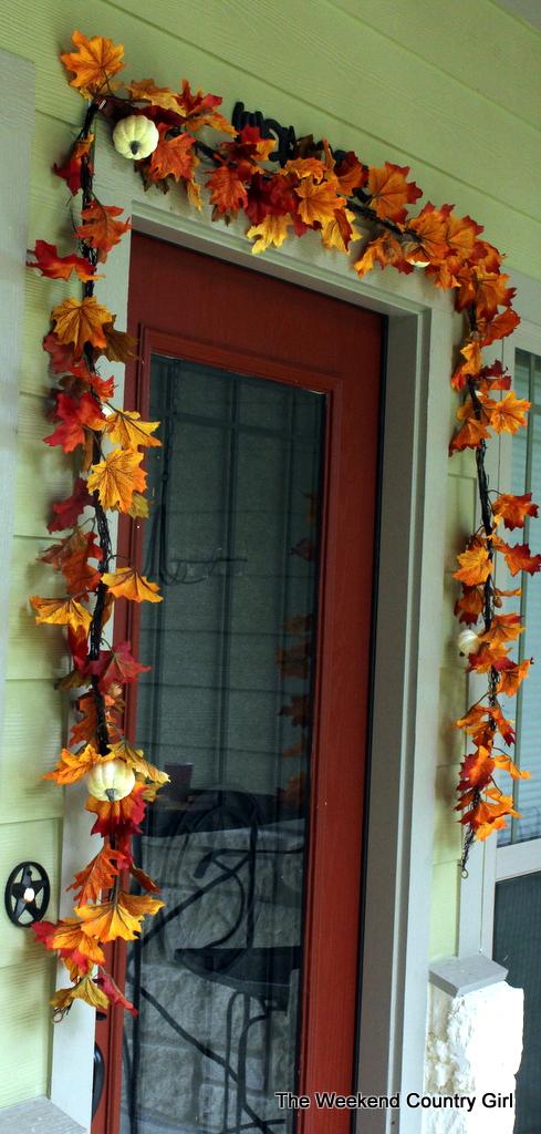 fall door
