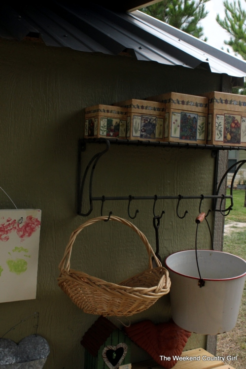 potting shed shelf