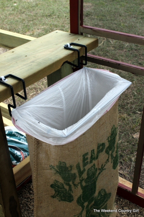 potting shed trash