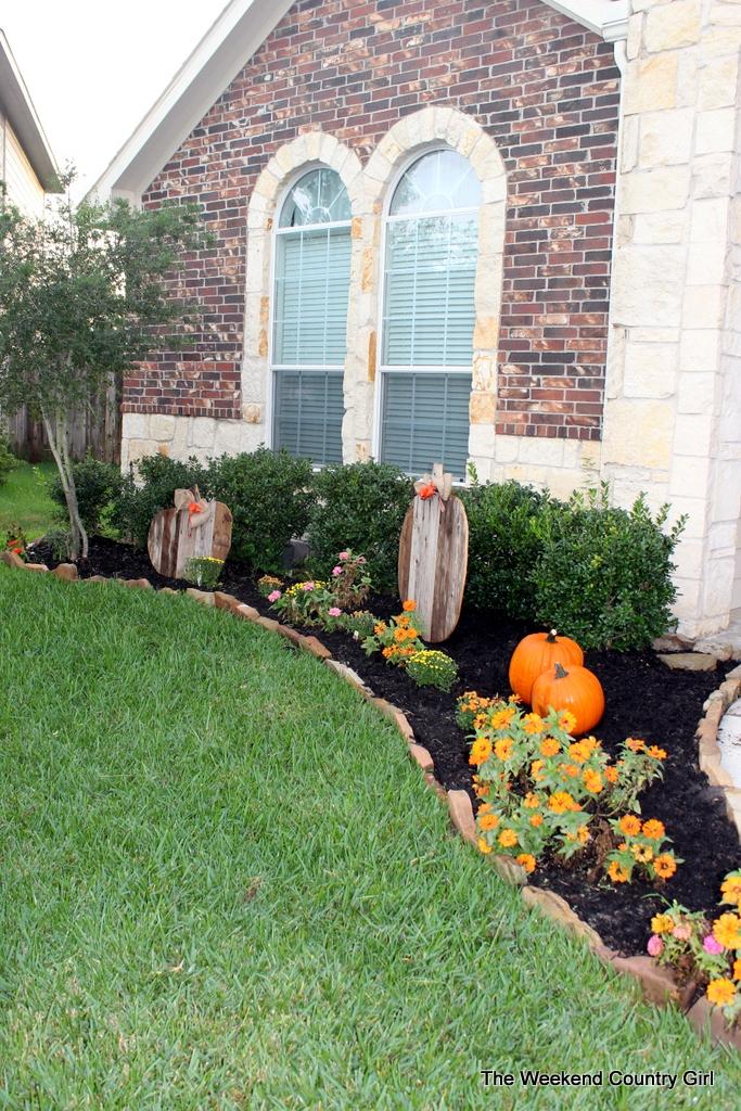 fall front yard