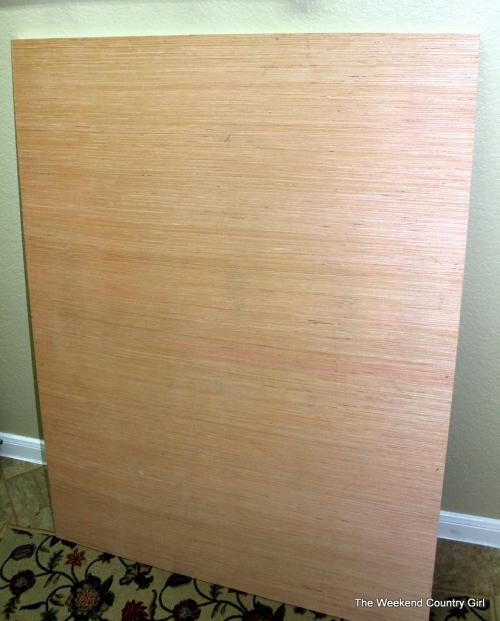 wooden canvas