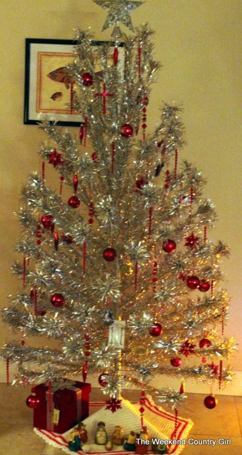 vintage aluminum tree