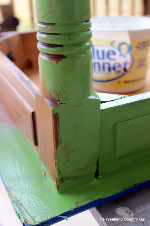 messy paint job