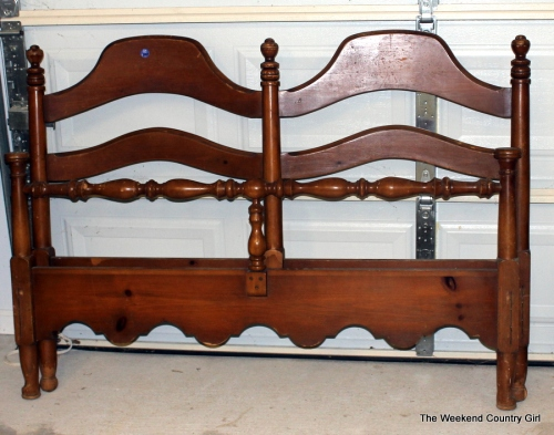 headboard and footboard for bench