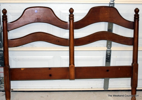 Headboard for bench