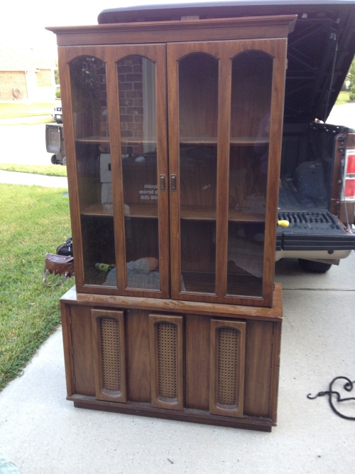 1960's china cabinet