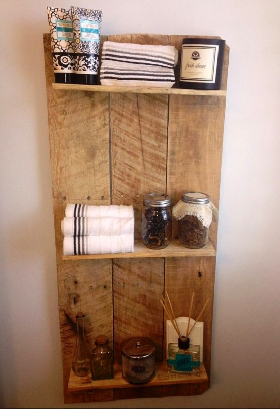 Bathroom Shelf Diy The Weekend Country Girl