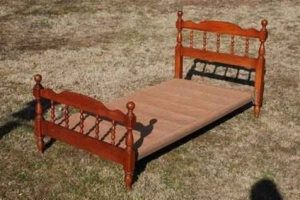 twin bed for bench