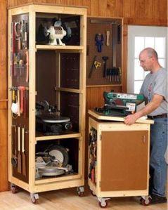 vertical craft storage