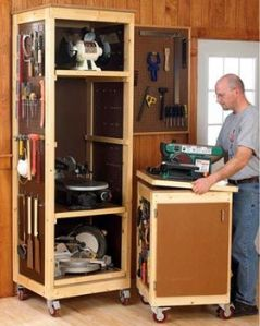 vertical craft storage
