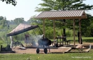 corn hole camping