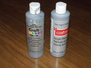 craft smart silver metallic paint