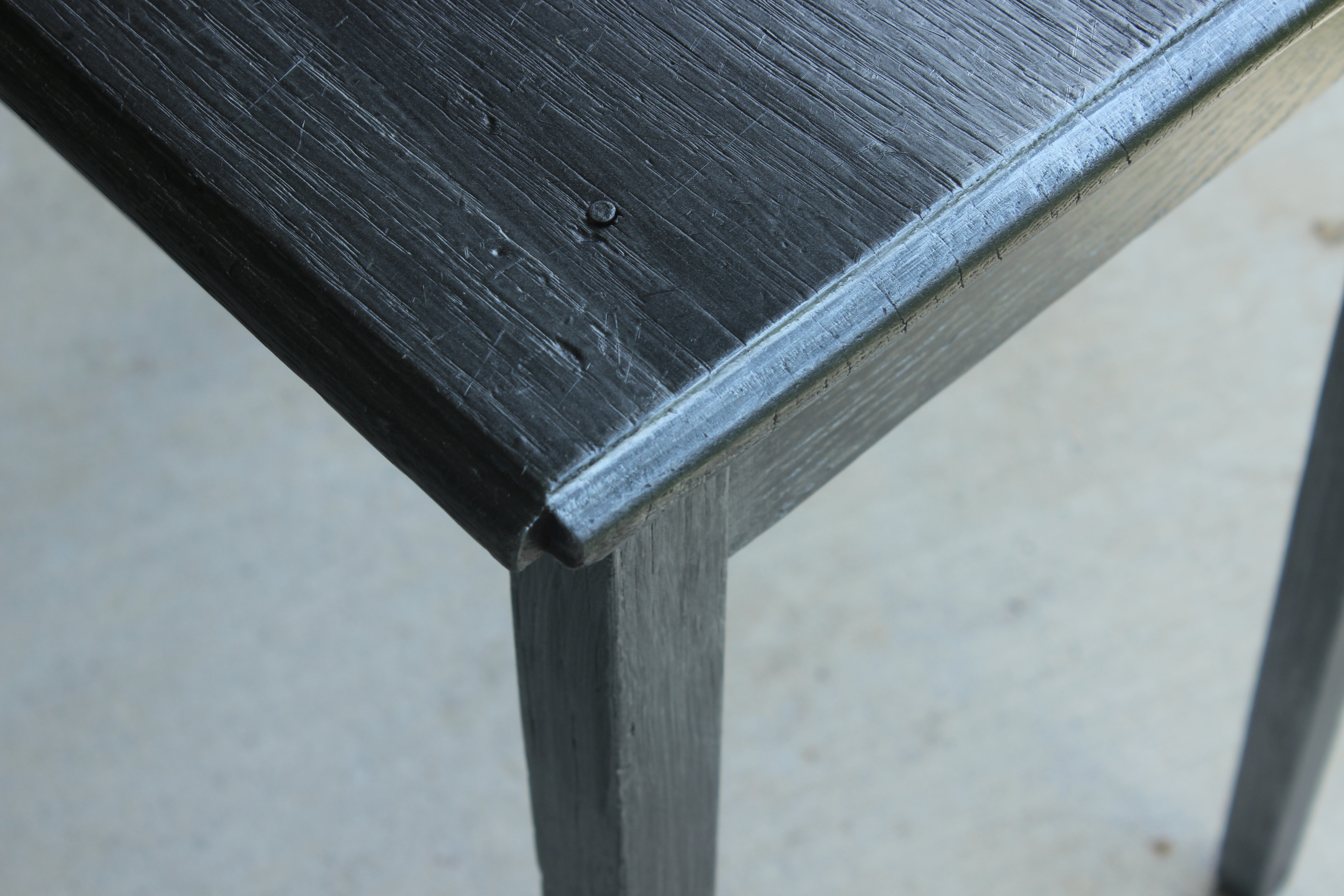 Easy Zinc Finish On Wood Furniture The Weekend Country Girl