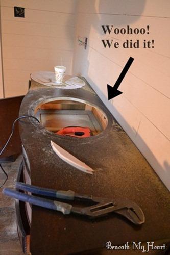 Turning a Dresser into a Bathroom Vanity (5/6)