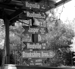 locations sign