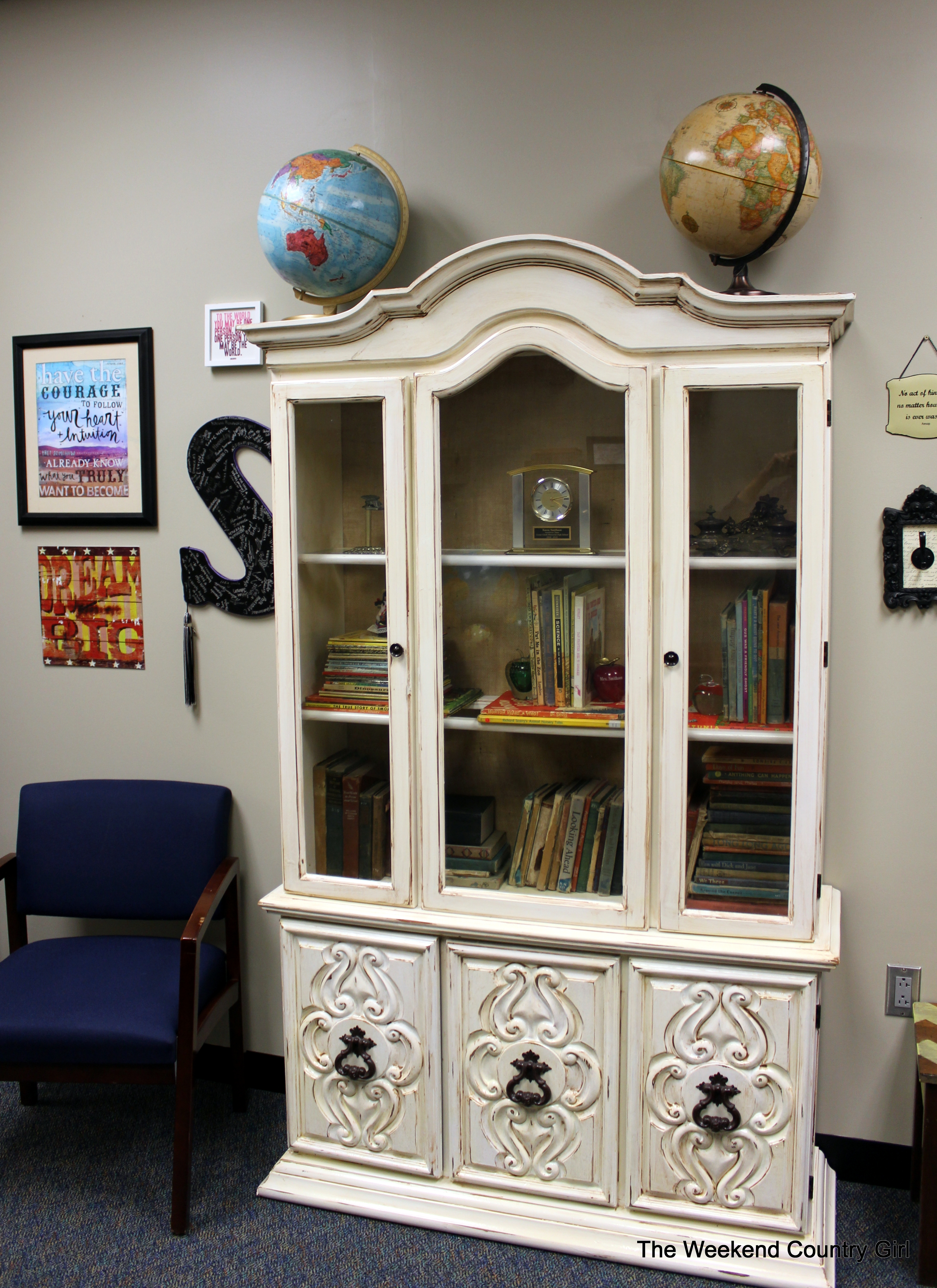 Eclectic Office Makeover Revealed   The Weekend Country Girl