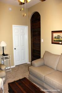view of the barn door