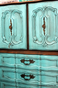 stain and paint armoire