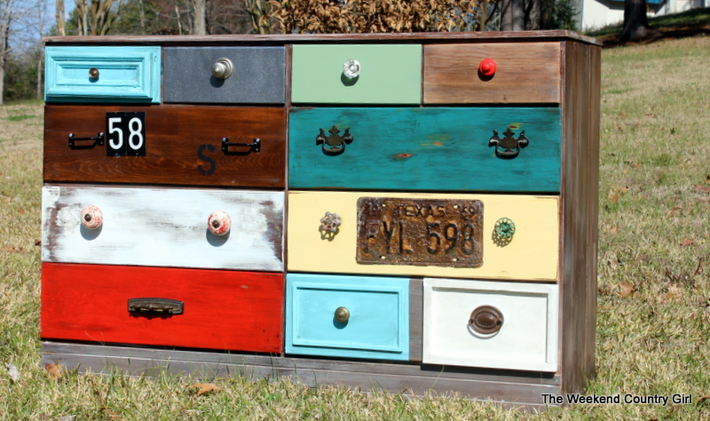 the colored dresser drawers different patchwork eclectic with