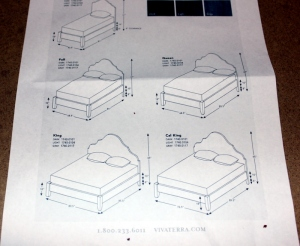 headboard dimensions