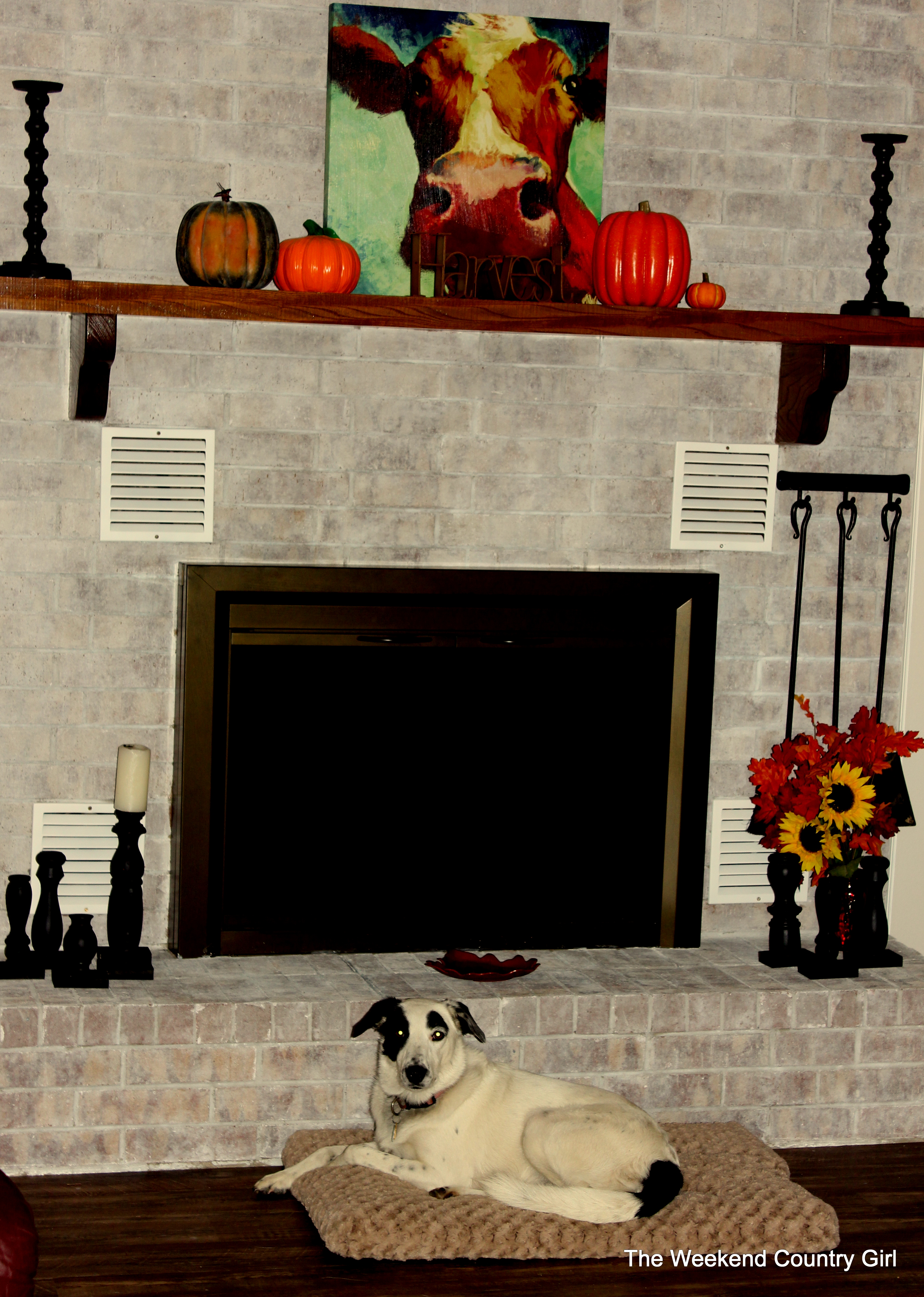 fireplace the weekend country